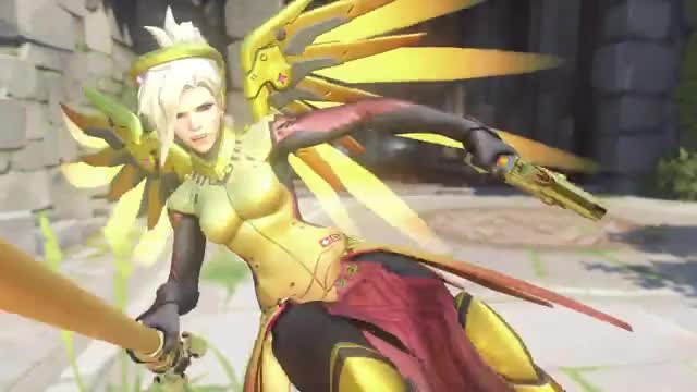 Watch and share Overwatch GIFs and Mercy GIFs by Twitch.tv/DJXyanyde on Gfycat