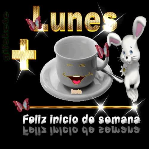 Watch Lunes+una taza de café = feliz inicio de semana !! GIF on Gfycat. Discover more related GIFs on Gfycat