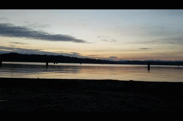 Watch Seattle Beach Sunrise 04.06.2016 GIF on Gfycat. Discover more seattle GIFs on Gfycat