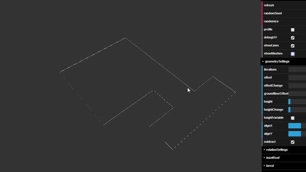 gamedev, proceduralgeneration, Procedural Building Generator (reddit) GIFs