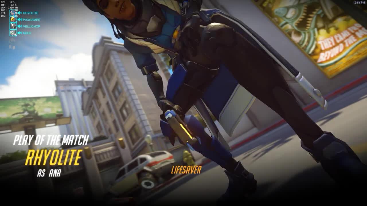 life saver, overwatch, Ana Play of the Game Lifesaver Memes GIFs