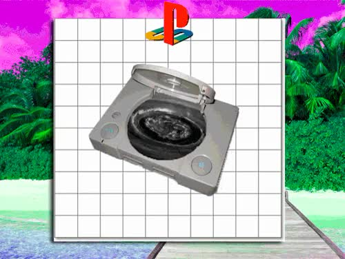 Watch and share Vaporwave Aesthetic GIFs and Playstation One GIFs on Gfycat