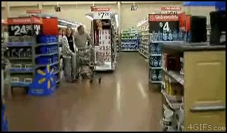 Watch and share Grocery Store Moonwalk GIFs on Gfycat