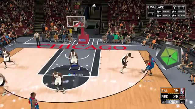 Watch Ben Wallace GIF on Gfycat. Discover more NBA2k, nba2k GIFs on Gfycat