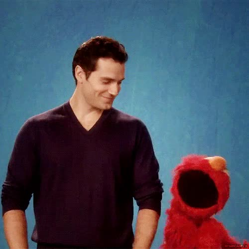 Watch and share Sesame Street GIFs and Henry Cavill GIFs on Gfycat
