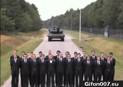 Watch and share Test Brake Pads, Gif, Tank, People, Fast GIFs on Gfycat