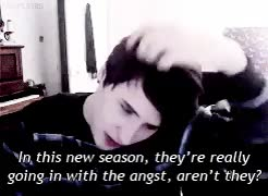 Watch and share Dan Howell GIFs and Danedit GIFs on Gfycat