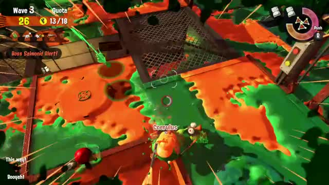 Watch and share Nintendo Switch GIFs and Salmon Run GIFs by Liat on Gfycat