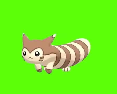 Watch Furret Walk Green Screen GIF on Gfycat. Discover more Pokemon, Walk, furret, meme GIFs on Gfycat