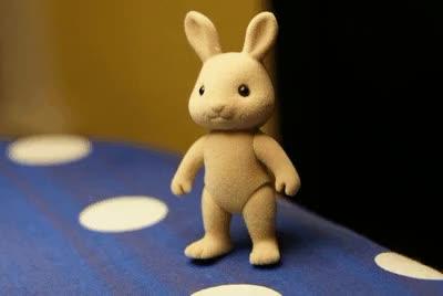 Watch Legit GIF GIF by @rafikhan on Gfycat. Discover more Bunny, Rabbit, Wave GIFs on Gfycat