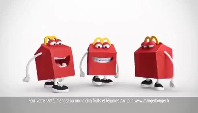 Watch and share Happy Meal™ Moi, Moche Et Méchant À Partir Du 28 Juin Chez McDonald's (2017) GIFs on Gfycat