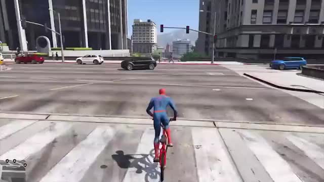 """Watch and share Just Your Friendly Neighborhood Spider-Man. Emphasis On The """"friendly"""" Part. GIFs on Gfycat"""
