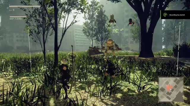 Watch and share Nier Combat GIFs by ozzyrocker45 on Gfycat