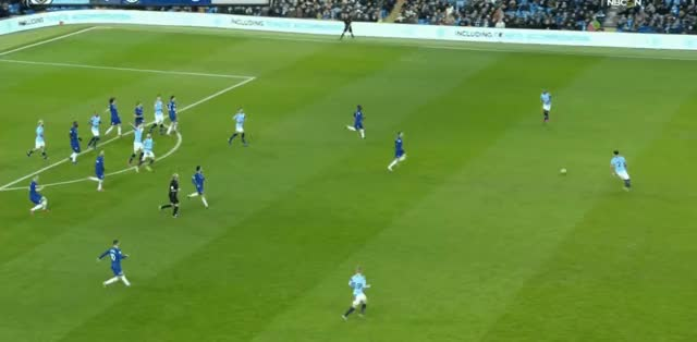 Watch and share Kyle Walker Long Pass Vs Chelsea 18-19 GIFs by FIFPRO Stats on Gfycat