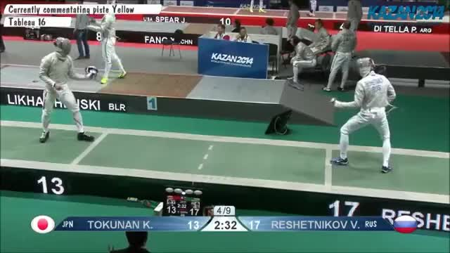 Watch and share Tokunan V Reshetnikov Point Counterattack GIFs on Gfycat
