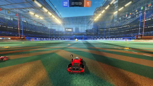 Watch and share Rocket League GIFs by agodscomma on Gfycat