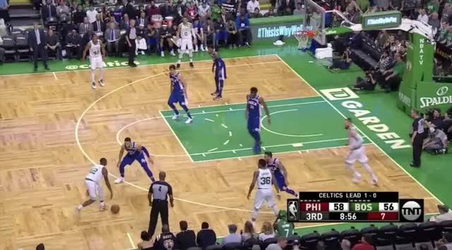 Watch and share Philadelphia 76ers GIFs and Boston Celtics GIFs by Ben Mallis on Gfycat