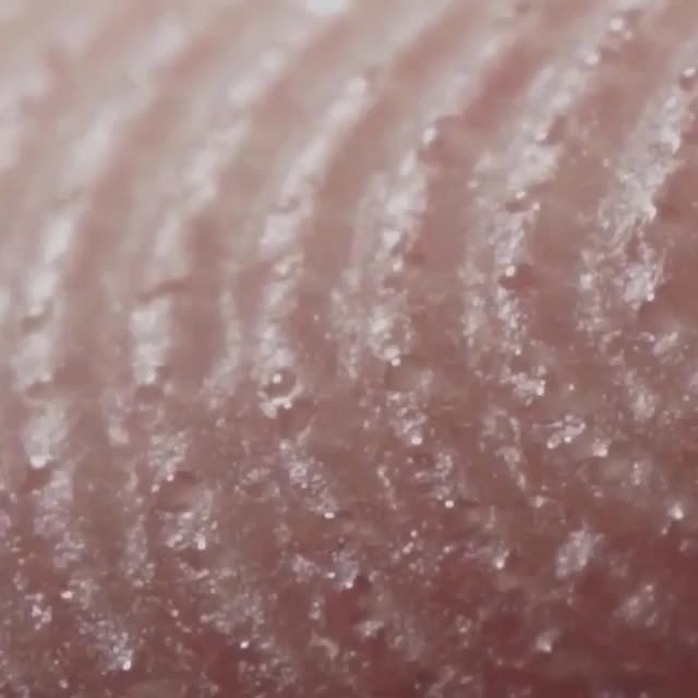 finger sweat, sweat forming, timelapse, Sweat forming on the tip of your fingers , time-lapse GIFs