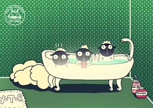 Watch Yoyo the Rice-corpse GIF on Gfycat. Discover more :3, Illustration, Y.T.R, Yoyo The Ricecorpse, animation, artist on tumblr, bunny, cute, digital, fun, gif, kawaii, life story, lol, loop, love, muahaha, series, sheep, watch out for the sheeps this year GIFs on Gfycat