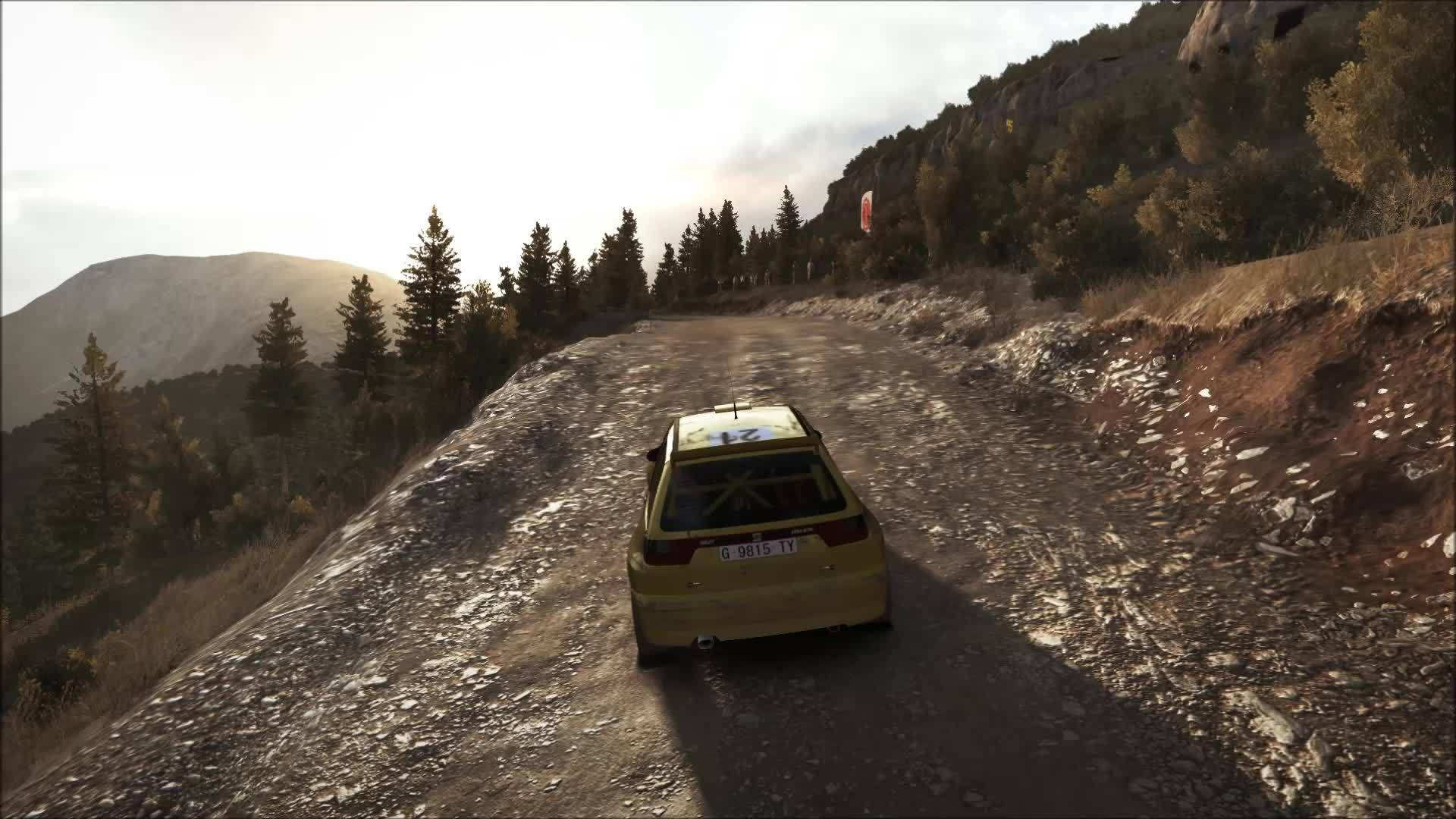 dirtgame, Probably the best possible place to puncture a tire. (reddit) GIFs