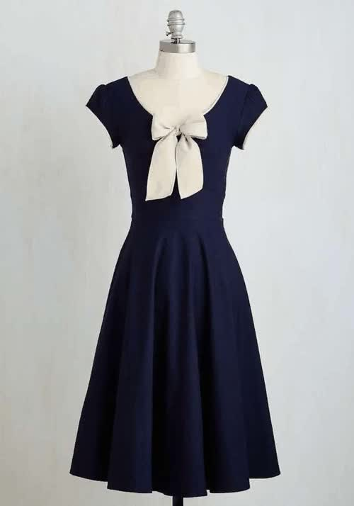 All That and Demure Dress in NavySearch for more Dresses by