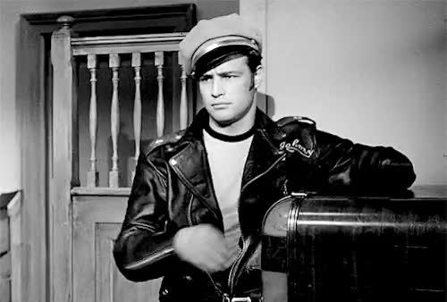Watch and share Laslo Benedek GIFs and Marlon Brando GIFs on Gfycat