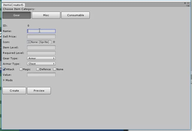Watch An item creator extension we made for our game designer to help him designing items for our next ARPG. (reddit) GIF on Gfycat. Discover more Unity3D GIFs on Gfycat