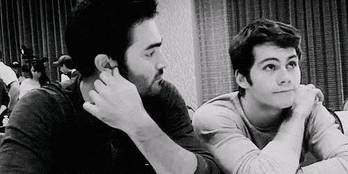 Watch Dylan  GIF on Gfycat. Discover more Beauty, Dylan, Lovely, Omg, SSweet, aww, beautiful, black and white, cute, derek, dylan o'brien, gif, handsome, happy, laugh, lol, smile, stiles, sweet, sweet eyes, teen wolf, tw, tyler hoechlin GIFs on Gfycat