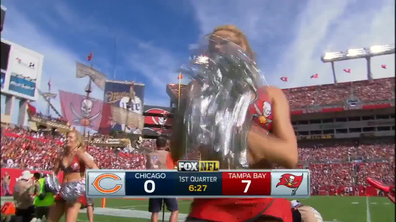 dance, football, nfl, Tampa Bay Buccaneers cheerleader GIFs