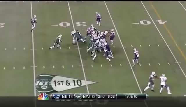 Watch and share Sanchez Butt Fumble With Enhanced Audio GIFs on Gfycat