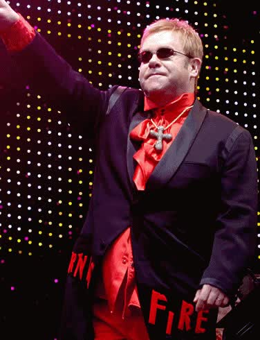Watch and share Elton-John.gif GIFs on Gfycat
