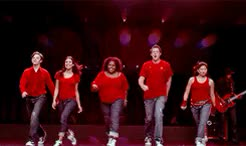 "Watch glee rewatch 01x01 - Pilot: ""Being great at something is goi GIF on Gfycat. Discover more *, amber riley, chris colfer, cory monteith, finn hudson, glee, glee cast, glee rewatch, jenna ushkowitz, kurt hummel, lea michele, mercedes jones, rachel berry, rewatch, tina cohen chang GIFs on Gfycat"