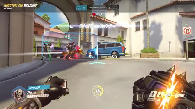 Watch and share Overwatch GIFs and Doomfist GIFs by LeChauveQuiCourt on Gfycat