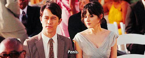 Watch and share Joseph Gordon Levitt GIFs and Zooey Deschanel GIFs by Reactions on Gfycat