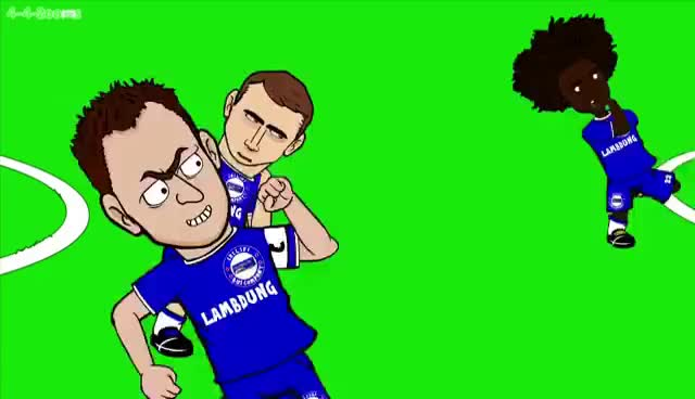 Watch LIVERPOOL DESTROY THE CHELSEA BUS! Liverpool v Chelsea 1-1 442oons Cartoon GIF on Gfycat. Discover more related GIFs on Gfycat