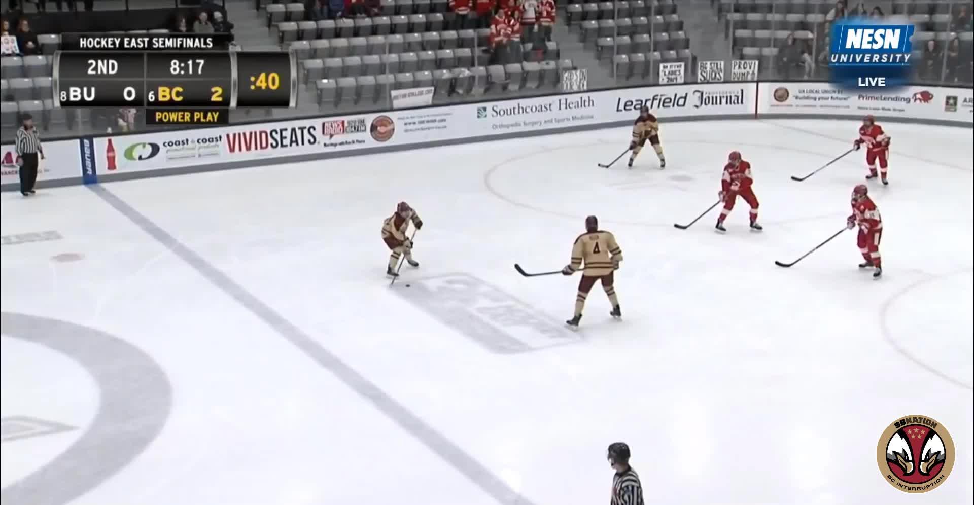 hockey, 3 Browne (W) BU 3/9/19 GIFs