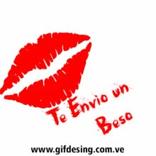 Watch and share Te Envio Un Beso GIFs on Gfycat