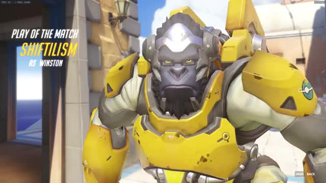 Overwatch winston play of the game video