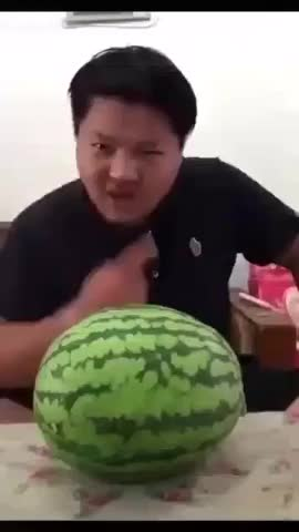 Watch and share The Watermelon Headbutt Challenge. Nominate Friends GIFs on Gfycat