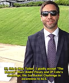 Watch and share Max Talbot Accepts The Ice Bucket Challenge. GIFs on Gfycat