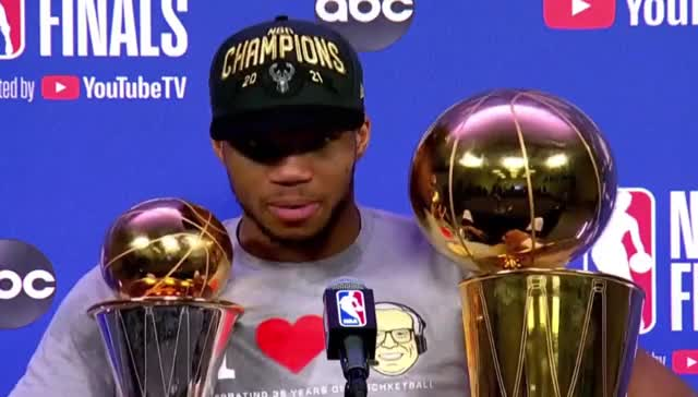 Watch and share Giannis Antetokounmpo Postgame Interview GIFs by GIF Generator on Gfycat