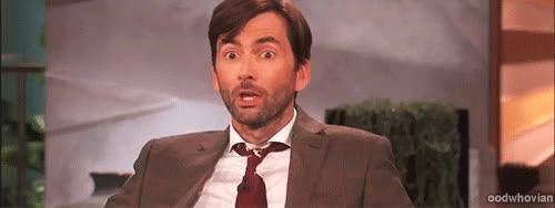 Watch startled GIF on Gfycat. Discover more david tennant GIFs on Gfycat