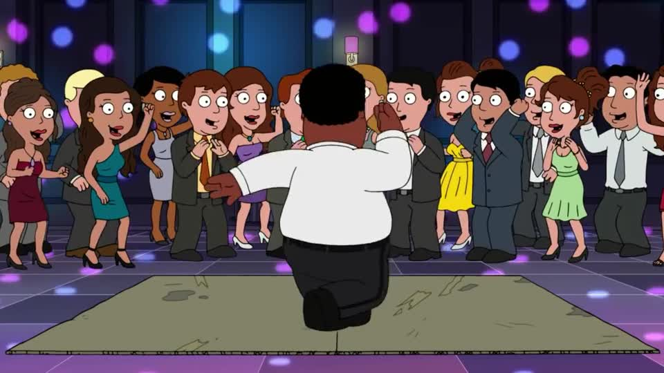 apache, break, brown, celebrate, cleveland, dance, dancing, down, family, gang, guy, hip, hop, night, party, perform, prom, saturday, sugarhill, weekend, Cleveland Brown's dance GIFs