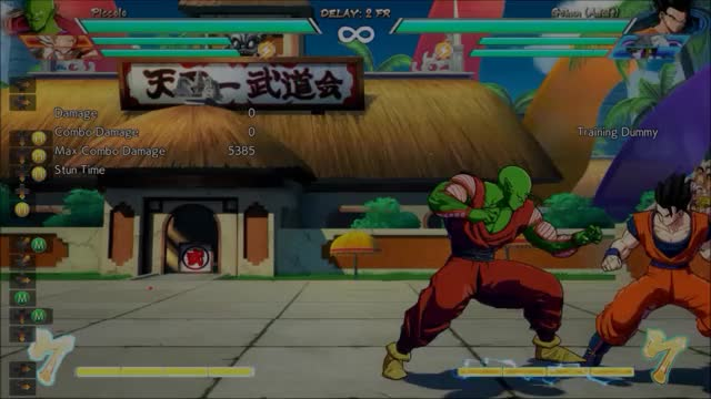 Watch DBFZ Piccolo - Corner 2M 5M 4bar combo (7152 dmg) GIF by @amex_svk on Gfycat. Discover more related GIFs on Gfycat