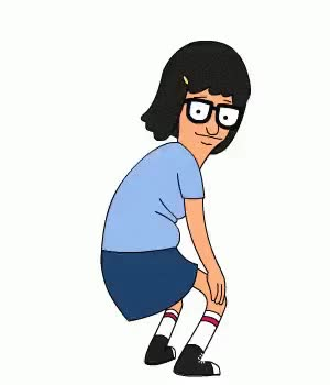 Watch this twerk GIF by The GIF Smith (@sannahparker) on Gfycat. Discover more bobs burgers, booty, booty dance, butt, dance, dancing, excited, happy, tina belcher, twerk, twerking, yas GIFs on Gfycat