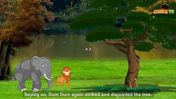Poonch Wala Bhoot | Hindi Cartoon Video | Hindi Story | Moral