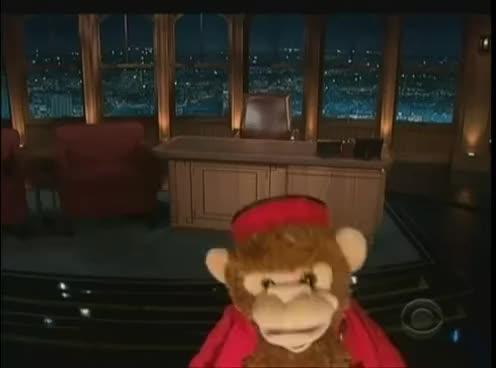 Late Late Show : monkey yodeling GIFs