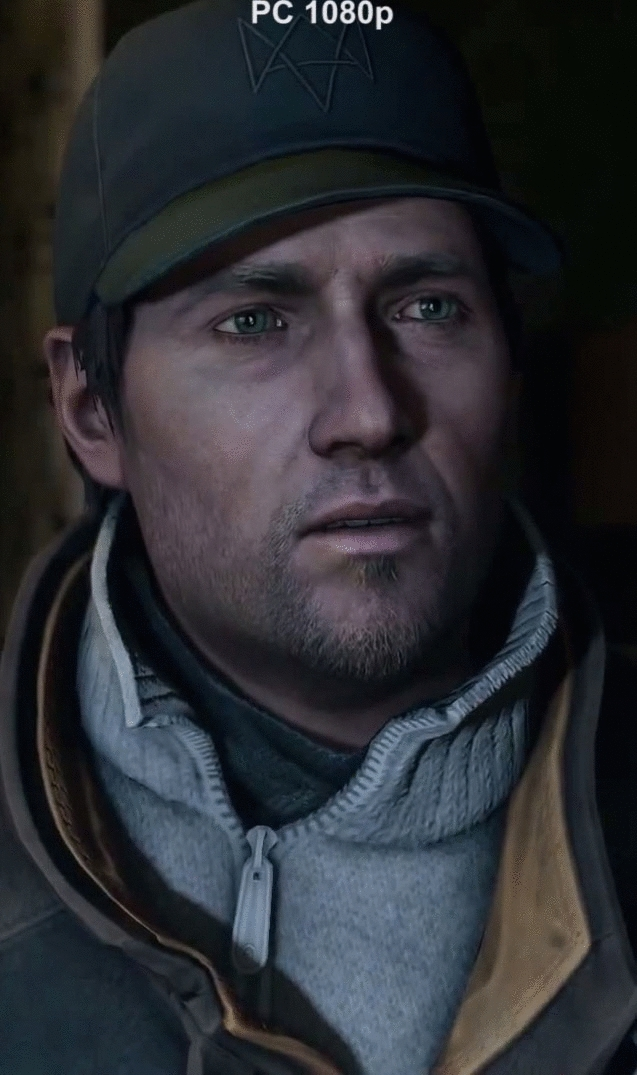 Watch Dogs - Console Comparison GIFs