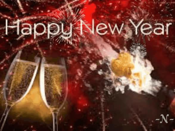 happy new year, happy new year 2019, new year, Happy new year GIFs