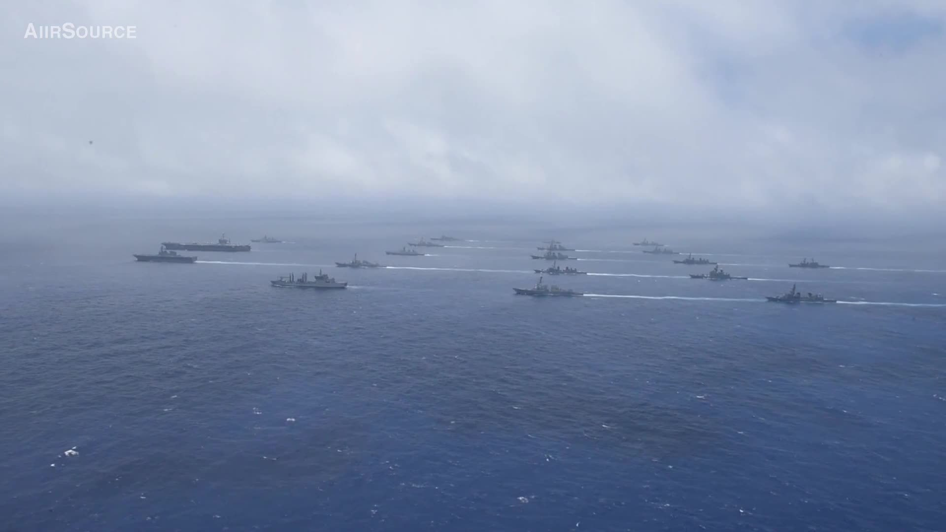 military, military training, militarygfys, US And Allies Show Of Force : Massive Ship Formation In Pacific Ocean GIFs
